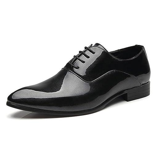 Pour Homme Chaussure Souple D'affaire Lacet Soulier A Cuir En 6vbf7gYy