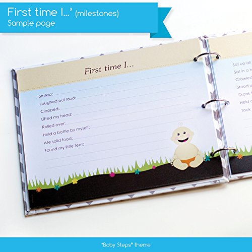 Amazoncom New Baby First Year Memory Book For A Proud Single Mom