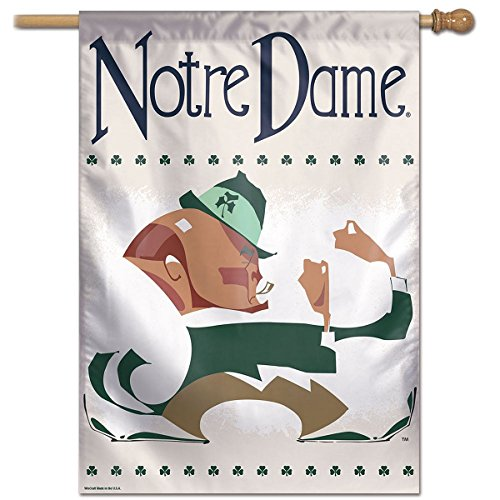 WinCraft Notre Dame Fighting Irish Vault Throwback Retro Vintage House Flag