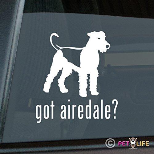 - Got Airedale Sticker Vinyl Auto Window terrier