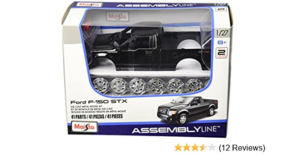 Amazon.com: Maisto 1:27 Scale Assembly Line 2010 Ford F-150 STX Diecast Model Kit (Colors May Vary): Toys & Games