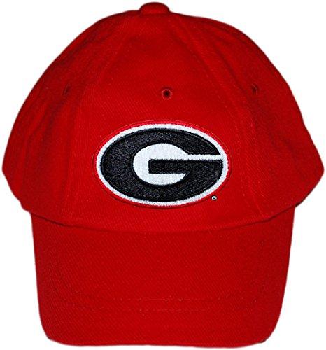 University of Georgia UGA Bulldogs Baby and Toddler Baseball Hat Red