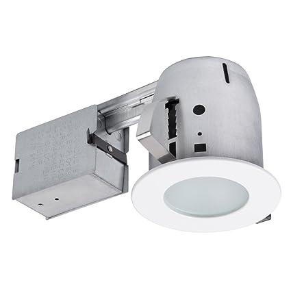 amazon com globe electric 90741 4 led ic rated bathroom shower