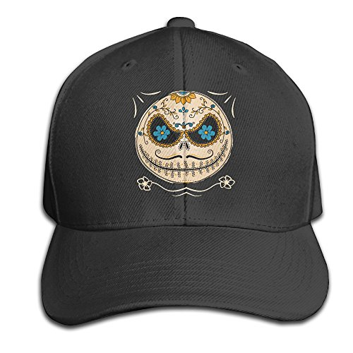 Jack Skellington Top Hat (Jack Skellington Baseball Snapback Cap Black)