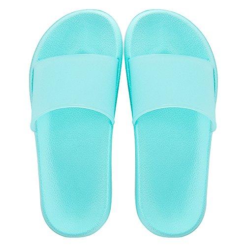 Antideslizante de Zapatillas Zapatillas YMFIE baño Piso Pareja baño Cool I Dedos casa Verano 45qxBnqwUv