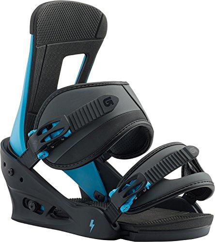 Burton Freestyle Snowboard Bindings Cobalt Blue Sz M (8-11)