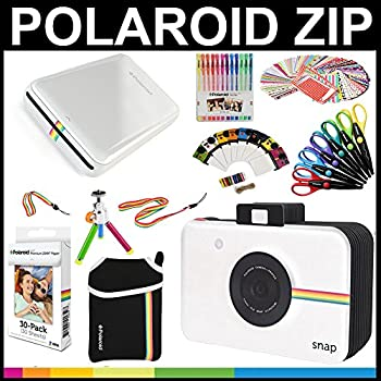Low Cost Polaroid Zip Mobile Printer Zink Zero Ink Printing