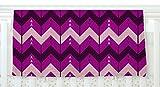 KESS InHouse Nick Atkinson ''Chevron Dance Purple'' Fleece Baby Blanket, 40'' x 30''