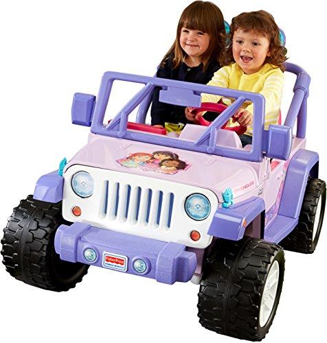 Dora Ride On Toy - Power Wheels Nickelodeon Dora & Friends Jeep Wrangler