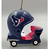 Team Sports America Houston Texans Vintage Field Cart Team Ornament