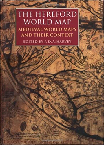 Amazon the hereford world map medieval world maps and their the hereford world map medieval world maps and their context british library studies in map history gumiabroncs Choice Image