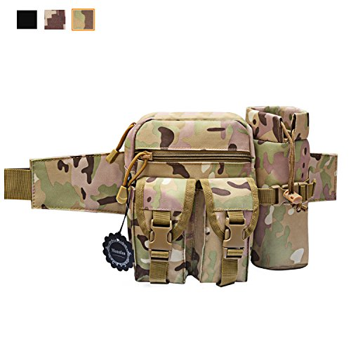 Waterproof outdoor camping hiking bag Tactical Waist Bag CP - 6