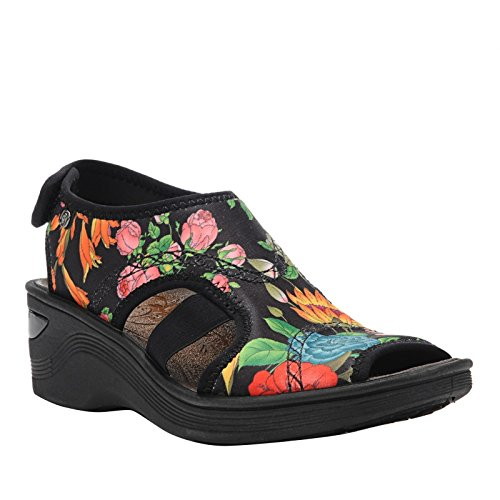 Bzees Womens Dream Zwart / Bloemenprint M