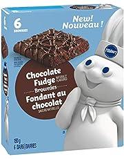 Pillsbury Chocolate Fudge Brownies, 6 Count