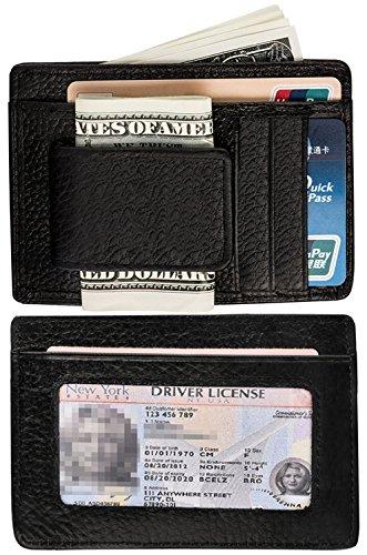 Slim Wallet, Front Pocket Wallet, Minimalist Wallet, Genuine Leather Wallet from MITB