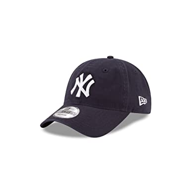 b92a7638db168 New Era New York Yankees Core Fit Replica 49Forty Fitted Hat Navy White  Size Small
