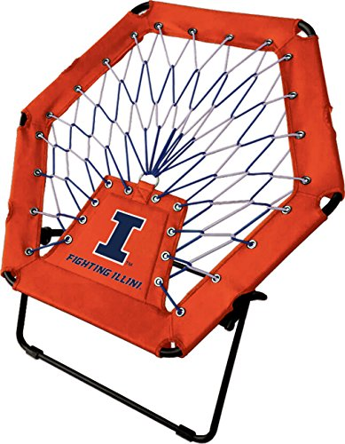 (Imperial Officially Licensed NCAA Furniture: Basic Bungee Chair, Illinois Illini)