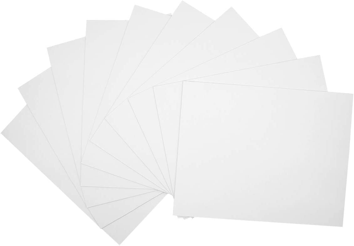 Golden State Art Pack of 5 Black Pre-Cut 16x20 Picture Mat for 11x14 Photo with White Core Bevel Cut Mattes Sets Includes 5 High Premier Acid Free Mats /& 5 Backing Board /& 5 Clear Bag