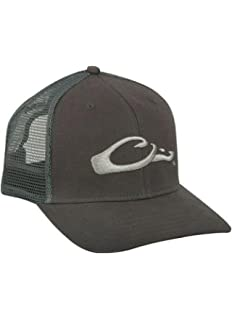 d2d5222fa96 Amazon.com  Drake DH3011BLA Men s Mossy Oak Shadow Grass Mesh Back ...