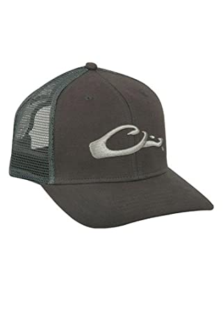 d179b6b39b9 Image Unavailable. Image not available for. Color  DRAKE MESH-BACK FLAT  BILL CAP