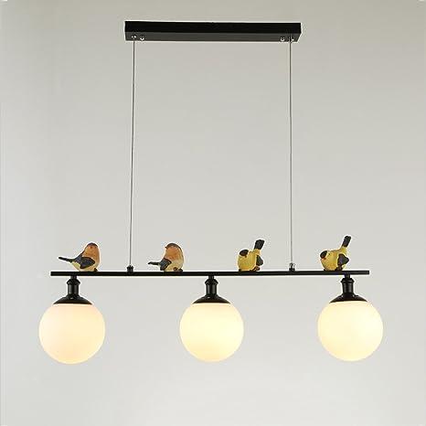 Resin Pendant Art Deco 3 Lights Ceiling Chandelier Island Lamp Lighting Fixture With Glass