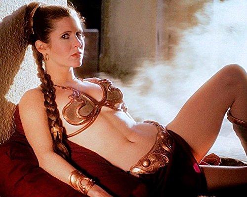 Actress Carrie Fisher Princess Leia Star Wars   8X10 Quality Photo Print