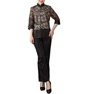 68c22255a Amazon.com: Bitablue Women's Cotton Chinese Traditional Jacket in ...