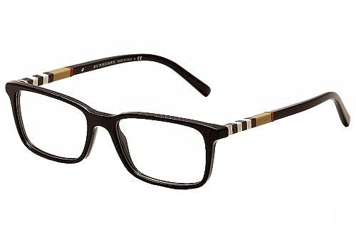 Burberry Eyeglasses BE2199 BE/2199 3001 Black Full Rim Optical Frame ...