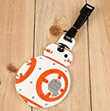 BB-8 Robot Star Wars PVC Name Tag For Luggage Suitcase School Bag Backpack (3.15