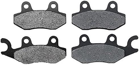 Non-Metallic Organic NAO Brake Pads Set KMG Front Brake Pads for 1998-2002 Suzuki LTF 500 Quadrunner