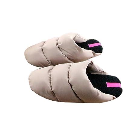 ccb4c705c052 Alxcio Winter Warm Slipper Indoor Slipplers Lovers Flat Shoes Lightweight Soft  Comfy Bedroom House Non Slip