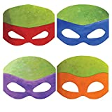 teenage mutant ninja turtles mask - Teenage Mutant Ninja Turtles Party Masks, 8ct
