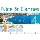 Nice & Cannes PopOut Map (PopOut Maps)