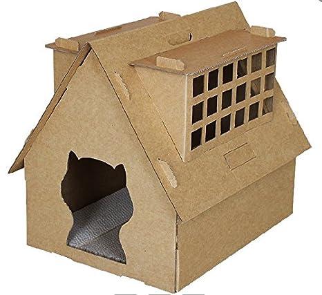 Rayado Tabla Ondulado Rascador para gatos cartón kratz cartón Muebles Tabla 50072 hogar 2: Cat pia: Amazon.es: Productos para mascotas