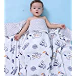 Little-Jump-Oversized-56x-44-Muslin-Toddler-Blanket-with-Soft-Minky-Dotted-Backing-Unisex-Baby-Blanket-for-Boys-and-Girls