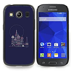 Stuss Case / Funda Carcasa protectora - Petersburgo Rusia Armada Plaza Roja Azul - Samsung Galaxy Ace Style LTE/ G357