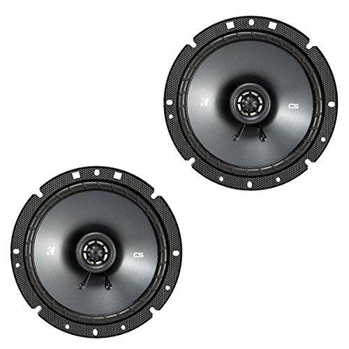 Kicker 43CSC674 CSC67 6.75-Inch Coaxial Speakers, - Inch Coaxial 6.75
