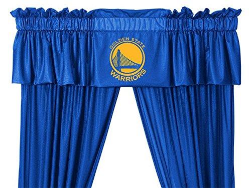 Golden Warriors Sports Coverage Valance