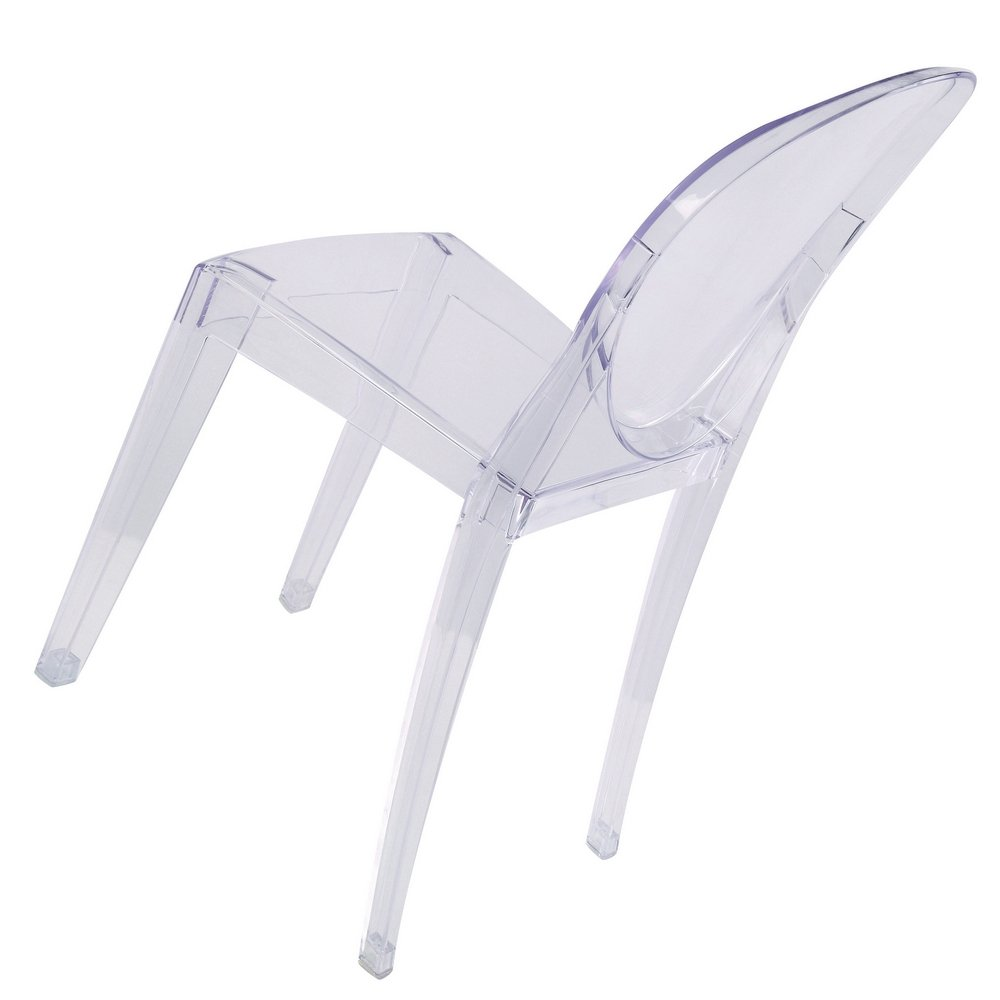 amazon com victoria ghost side chair set of 2 dining chairs chairs