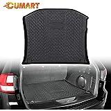 CUMART Rear Cargo Trunk Liner Floor Mat Waterproof Protector Compatible with Jeep Grand Cherokee 2011 2012 2013 2014 2015 2016 2017 2018 2019 2020