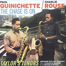 Paul Quinichette / Charlie Rouse. The Chase is On + Art Taylor - Taylor's Tenors