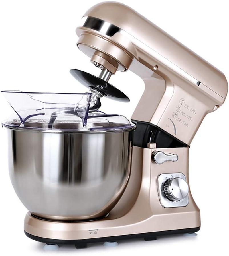Máquina de Fideos ZQ Máquina de Cocina para el hogar Máquina amasadora eléctrica Máquina mezcladora de Masa Comercial Eggbeater Máquina de Leche: Amazon.es