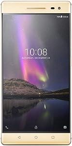 "Lenovo Phab 2 Pro 64GB 6.4"" 4G LTE GSM Unlocked,Champagne Gold(Renewed)"