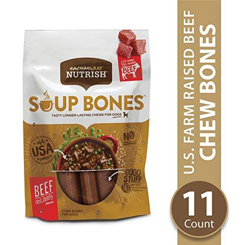 Easy Savory Halloween Treats (Rachael Ray Nutrish Soup Bones Dog Treats, Real Beef & Barley Flavor, 11)