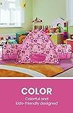 Alvantor Kids Tents Indoor Children Play Tent-for Toddler Tent for Kids Pop Up Tent Boys Girls Toys Indoor Outdoor Playhouse Camping Play-Ground Rainbow