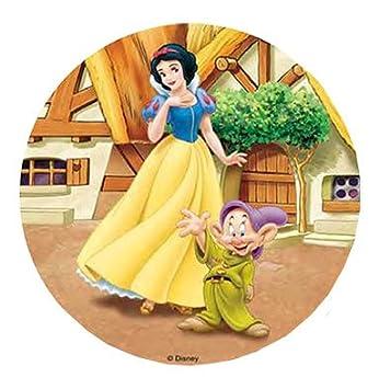 Disney Snow White 20 5 Cm Kuchendekoration Essbar Waffel