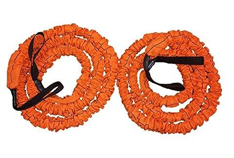 Stroops Son of the Beast Battle Ropes, Orange (150 Lbs. Resistance) 1- Pair (The Beast Slastix Battle Rope)