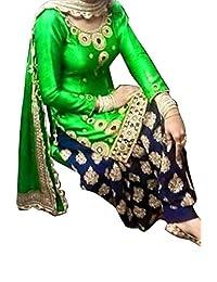Patiayala Salwar Kameez Designer Indian Dress Bollywood Ethnic Party