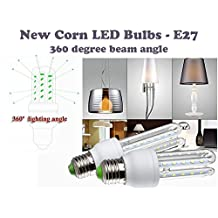 Led light bulb E26 base - 12W (75w incandescent), 6500K - cool white, 35,000 hrs, 6.7 inch, LED E26 bulb perfect replacement of E26 A19 100W incandescent bulbs, CFL bulb 20W, Fluorescent light bulbs, Halogen led replacement
