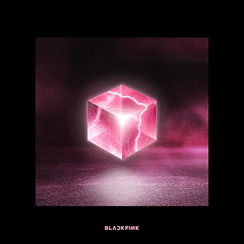GENIE MUSIC BLACKPINK - SQUARE UP [Black ver.] (1st Mini Album) CD+Photobook+Renticular Lyrics+Postcard+Photocards+Double-Side Folded Poster+Free Gift